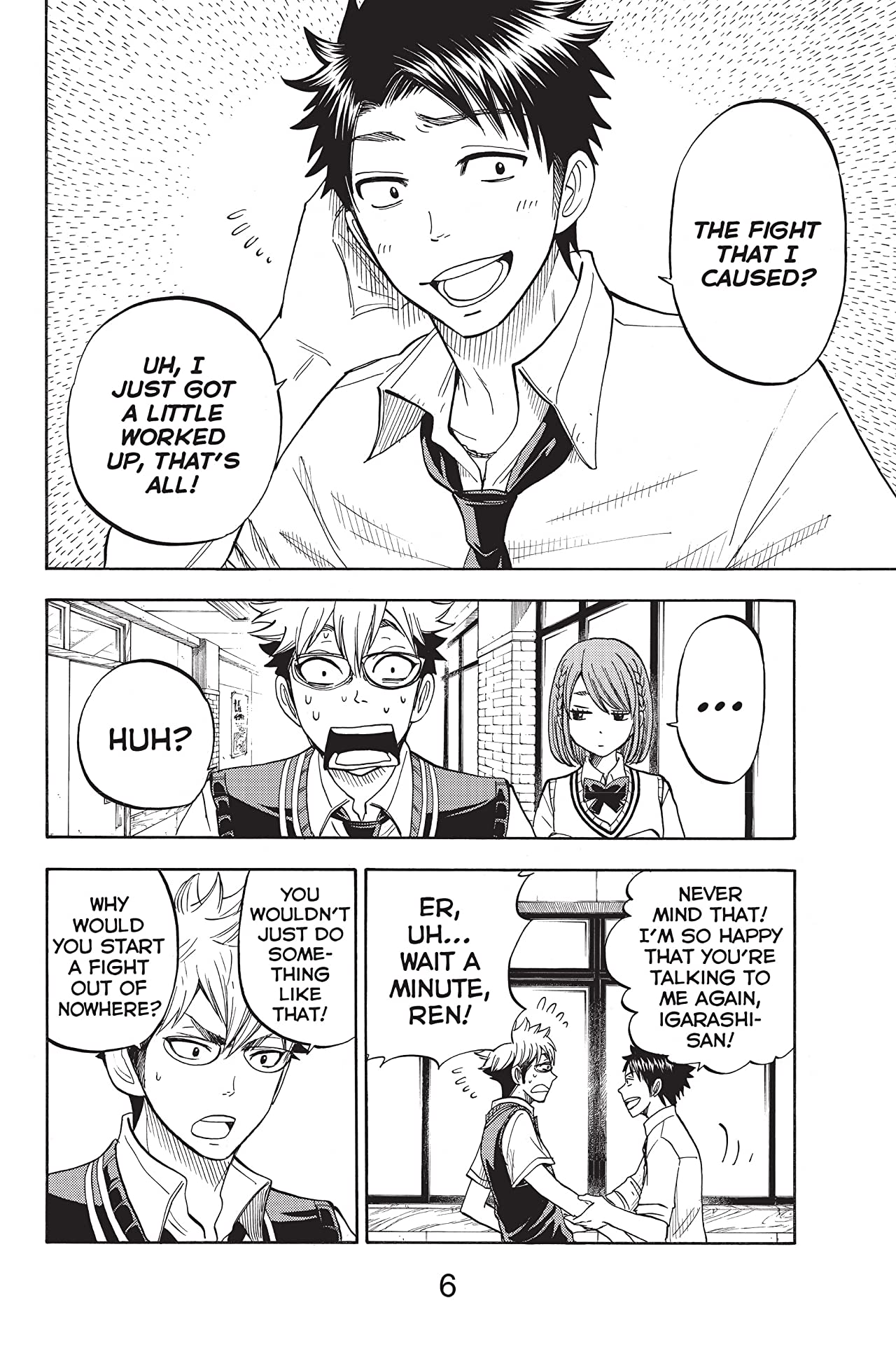 Yamada-kun and the Seven Witches Vol. 6