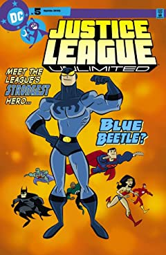 Justice League Unlimited No.5