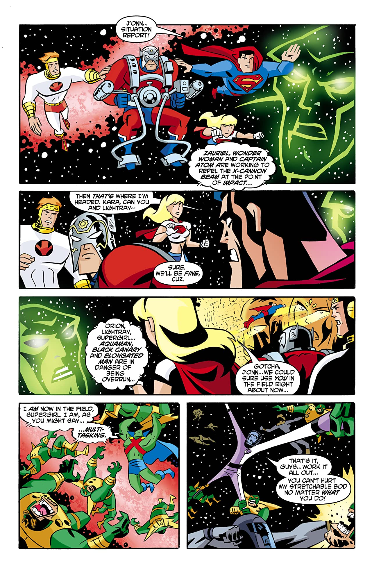 Justice League Unlimited #7