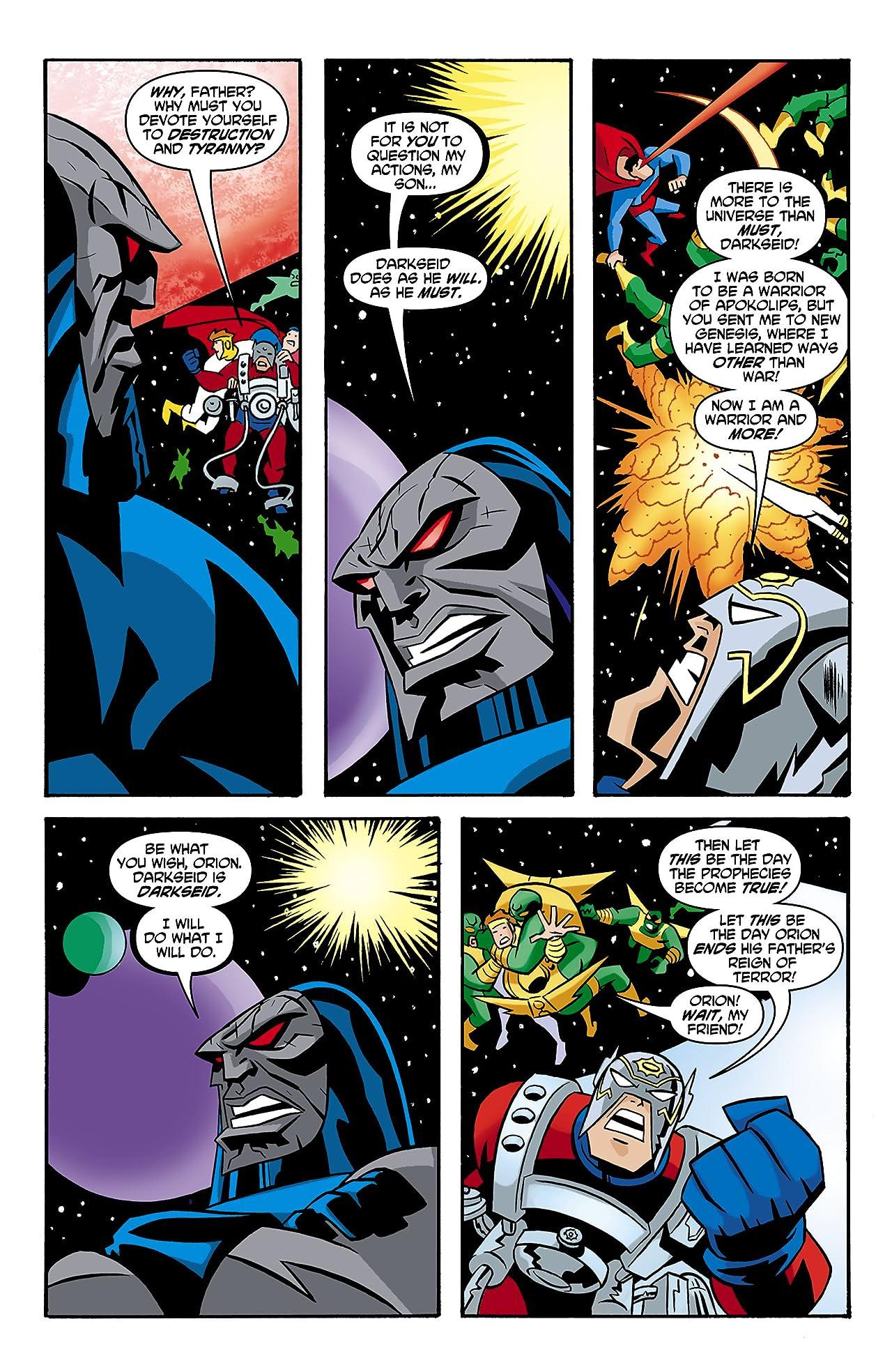 Justice League Unlimited #7