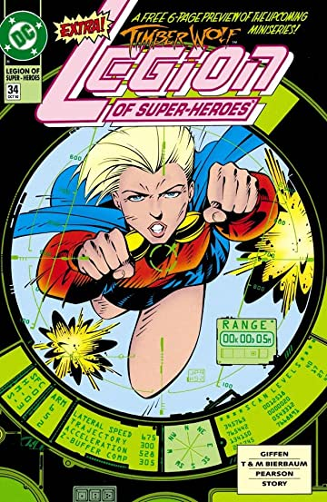 Legion of Super-Heroes (1989-2000) #34