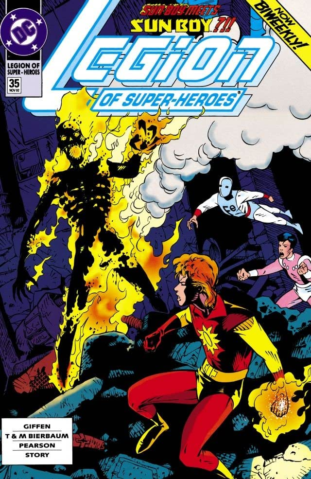 Legion of Super-Heroes (1989-2000) #35