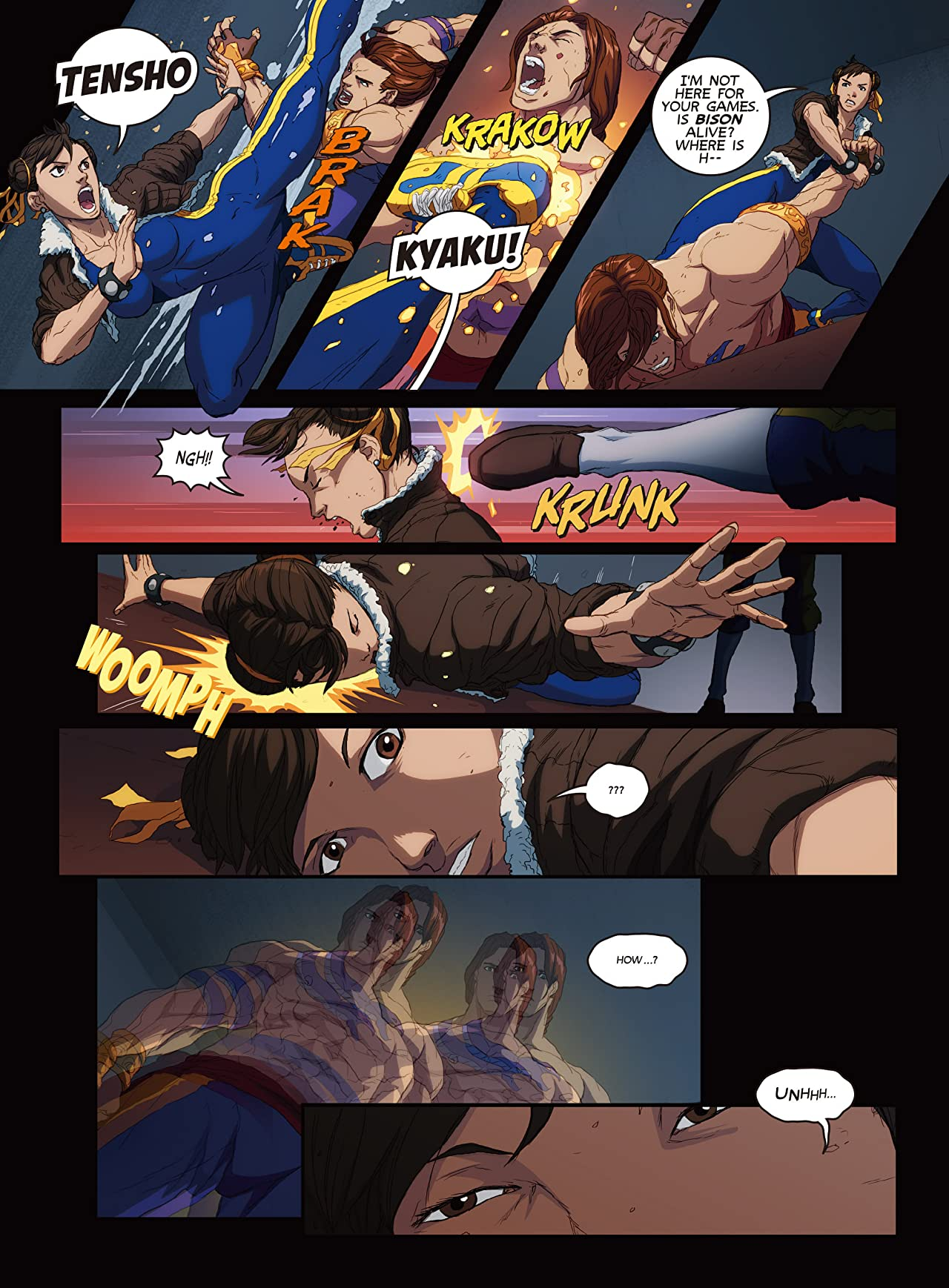 Street Fighter Unlimited #3