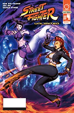 Street Fighter Unlimited #4