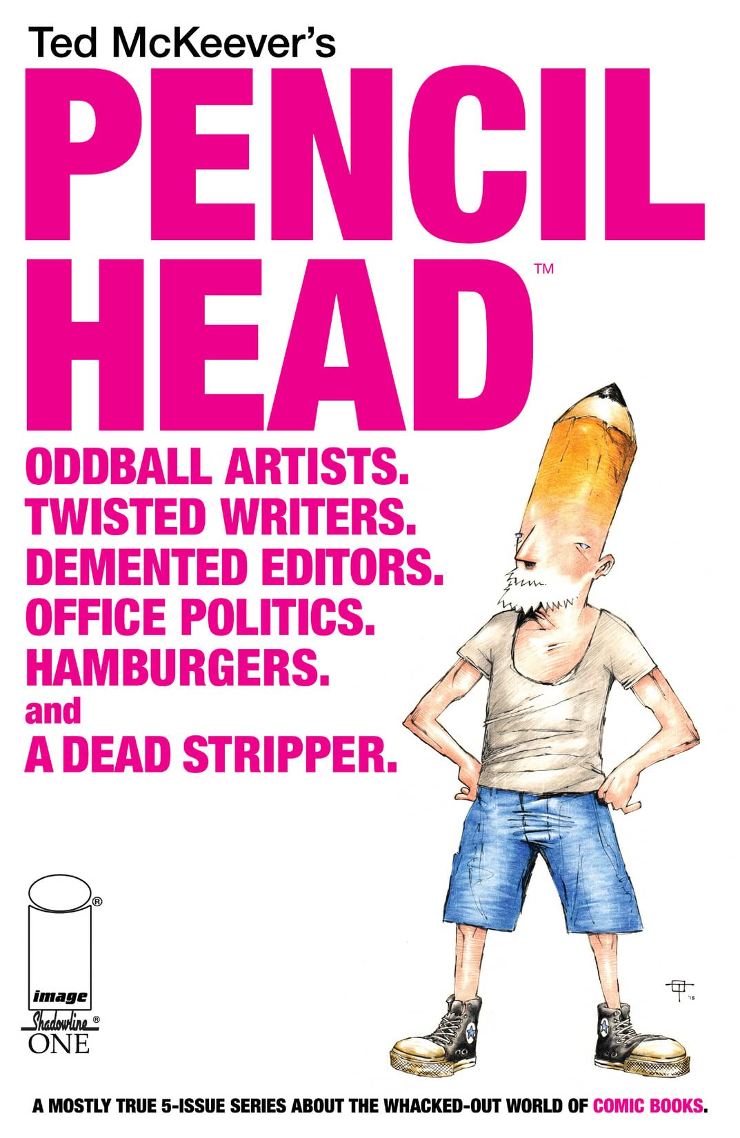 Pencil Head #1 (of 5)