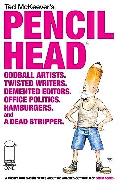 Pencil Head #1 (of 5)