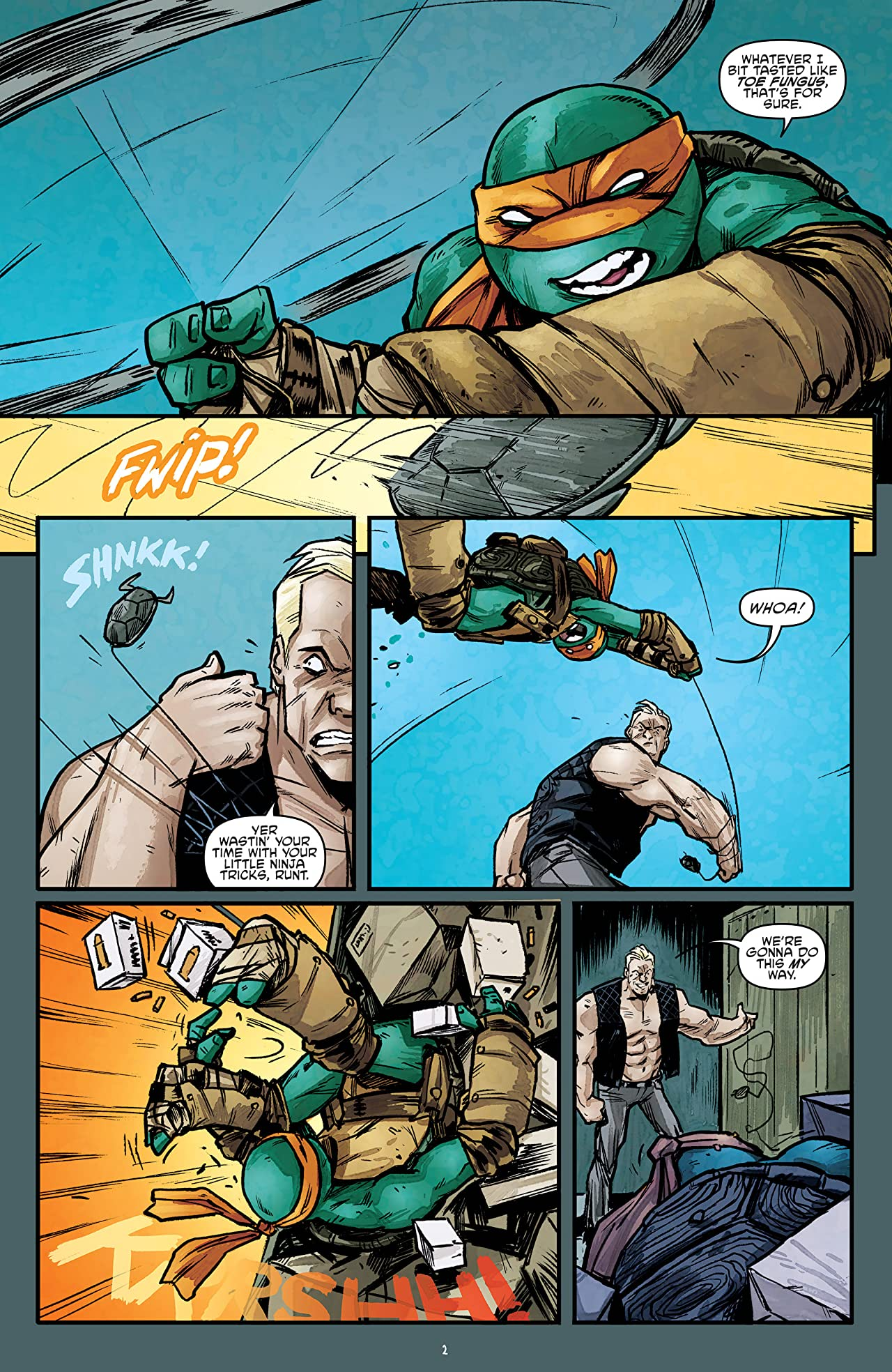 Teenage Mutant Ninja Turtles #54