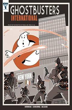 Ghostbusters International #1