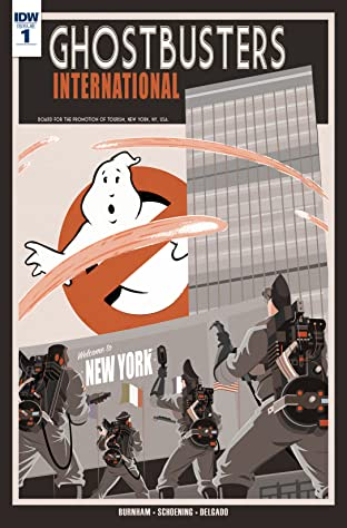 Ghostbusters International #1