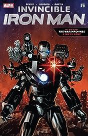 Invincible Iron Man (2015-2016) #6