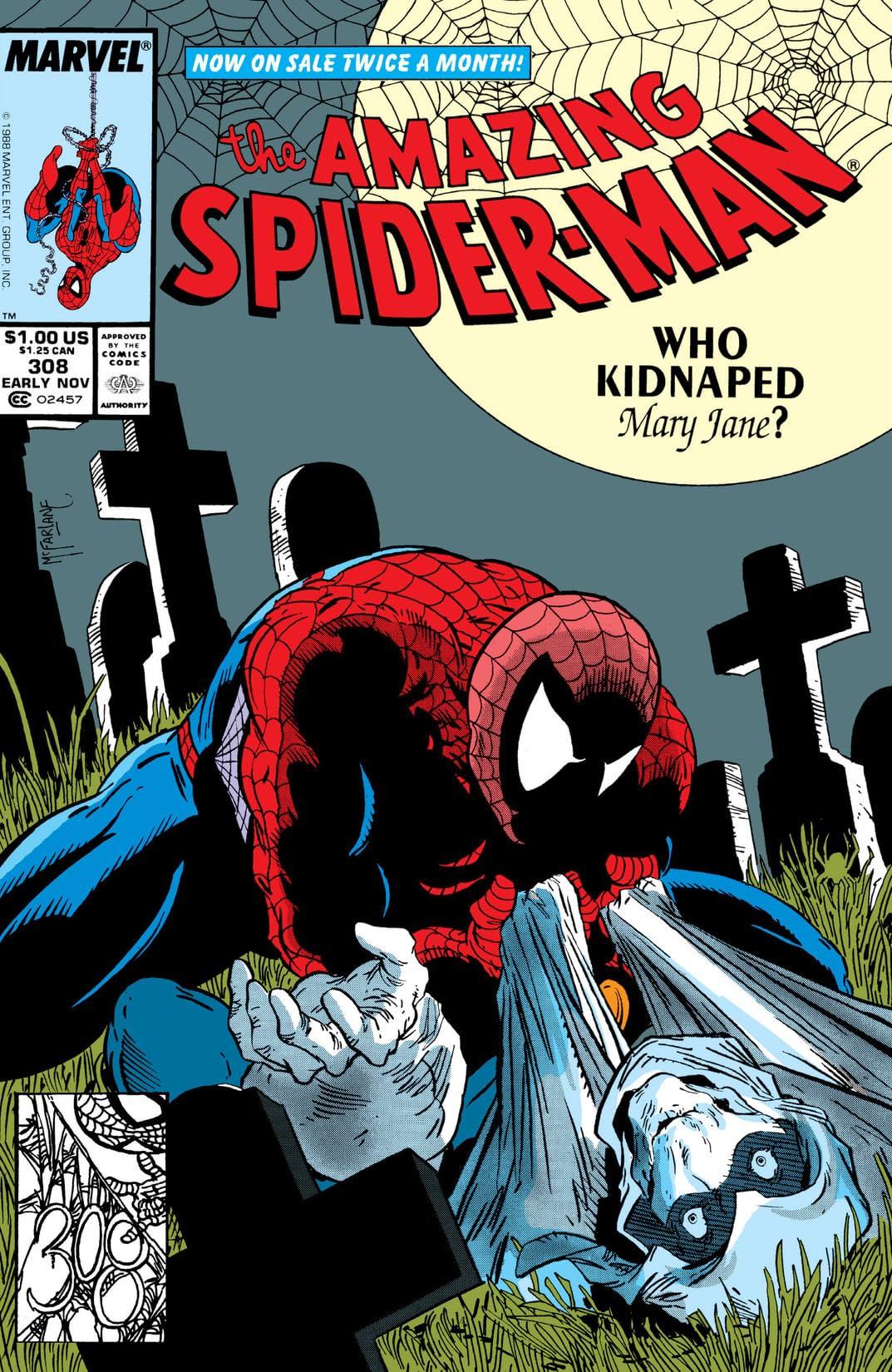 Amazing Spider-Man (1963-1998) #308