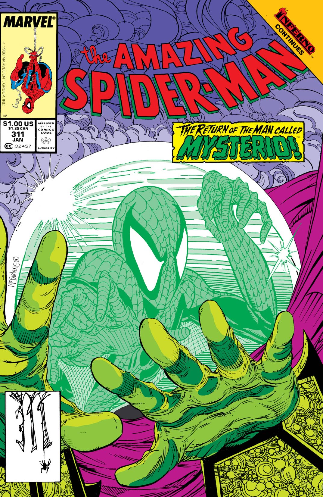 Amazing Spider-Man (1963-1998) #311
