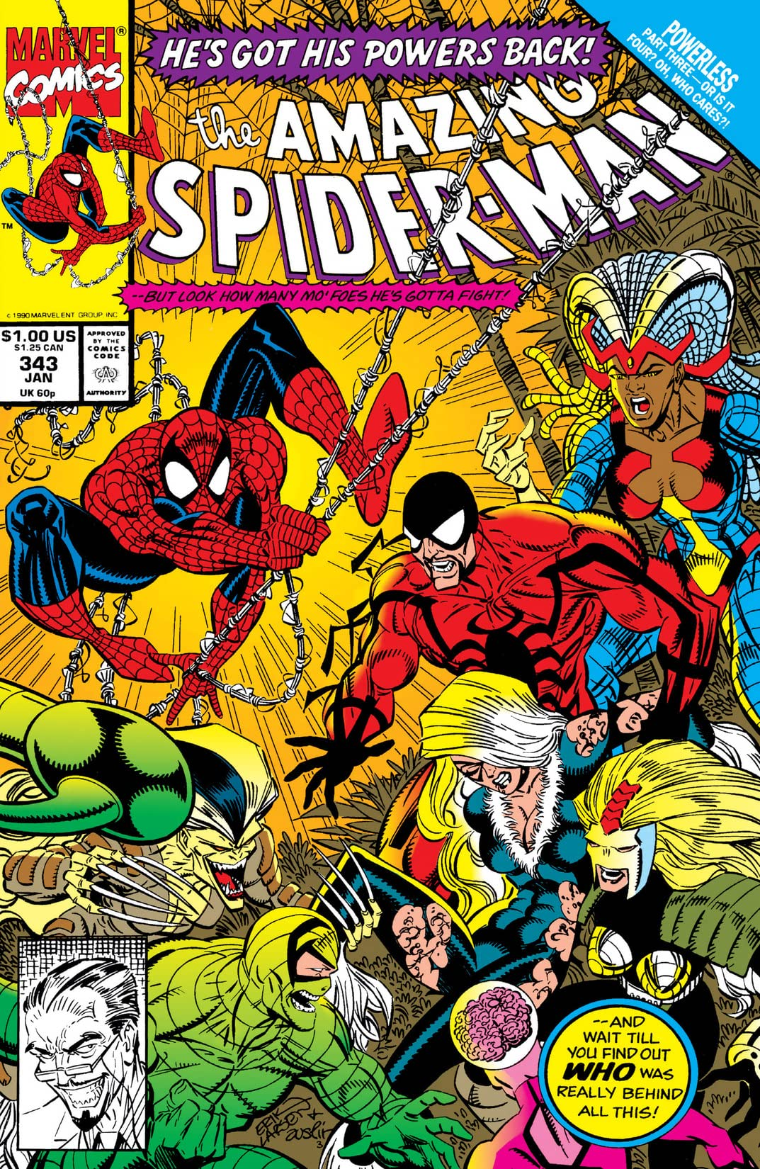 Amazing Spider-Man (1963-1998) #343