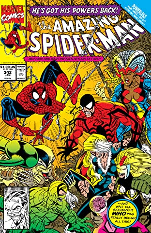 Amazing Spider-Man (1963-1998) #343
