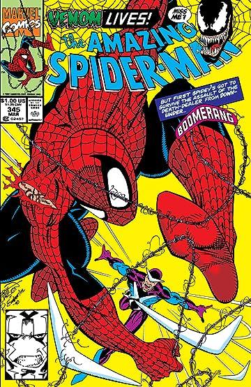 Amazing Spider-Man (1963-1998) #345