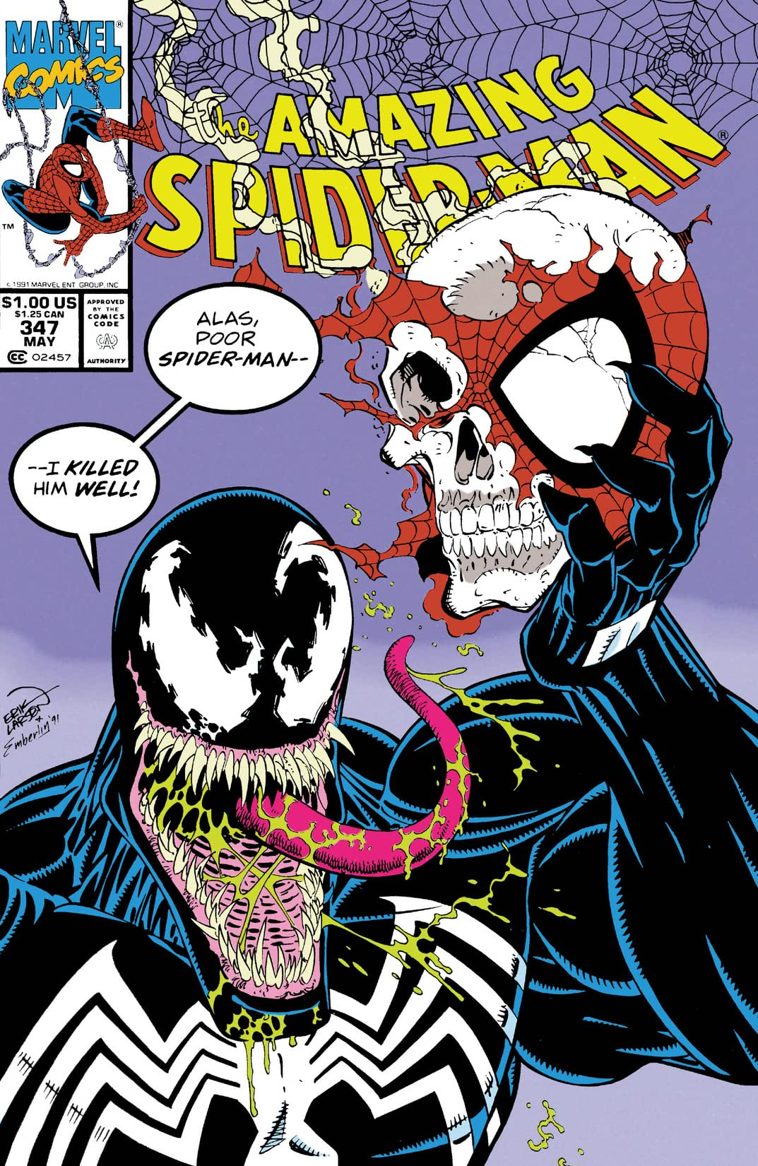 Amazing Spider-Man (1963-1998) #347