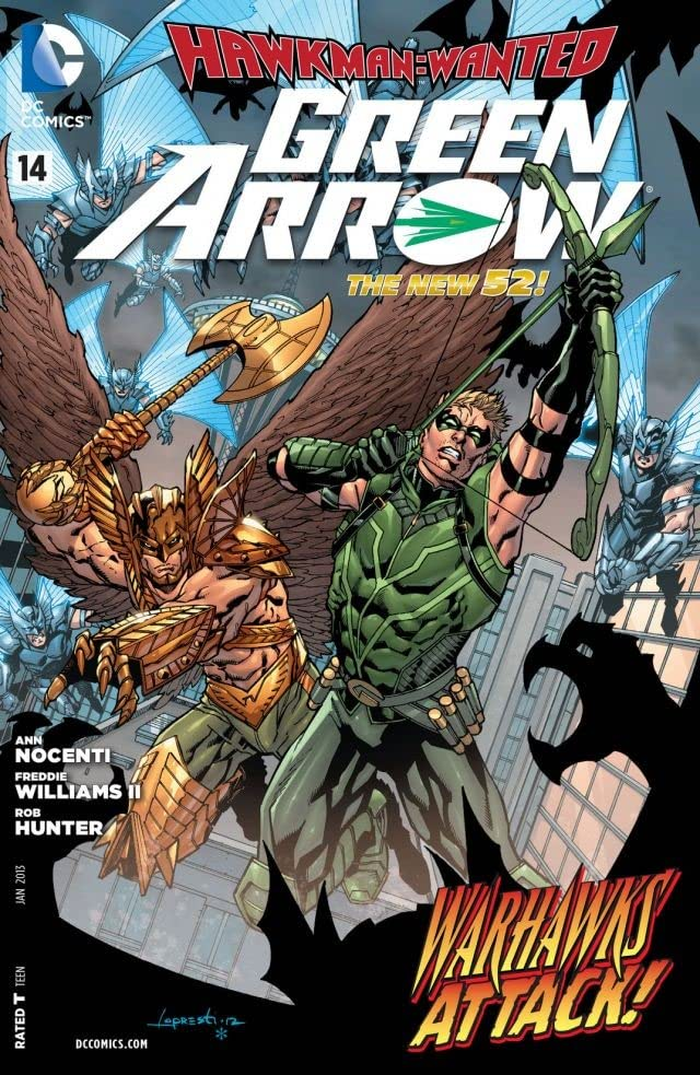 Green Arrow (2011-2016) #14