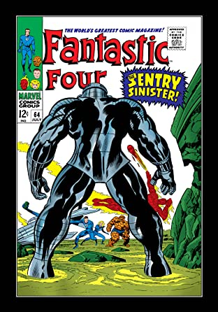 Fantastic Four (1961-1998) #64