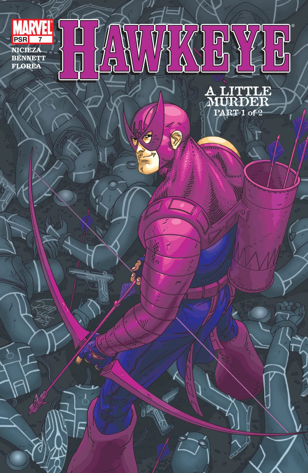 Hawkeye (2003-2004) #7