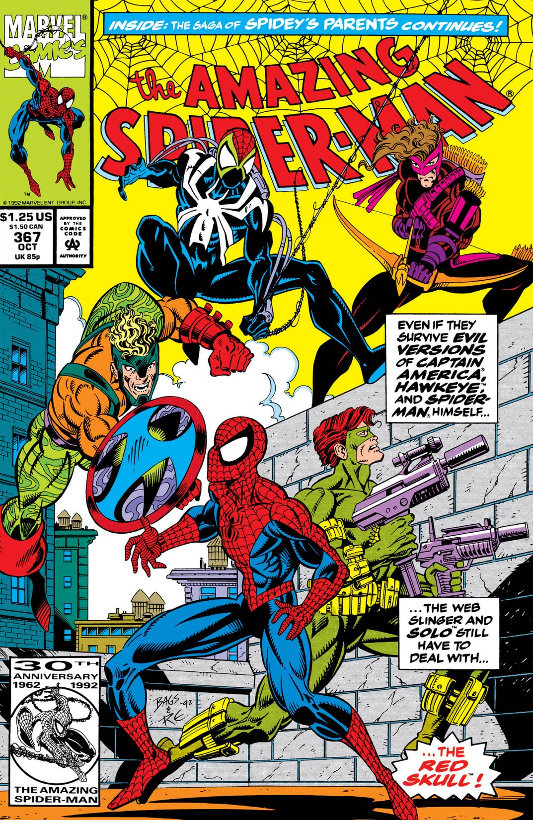 Amazing Spider-Man (1963-1998) #367