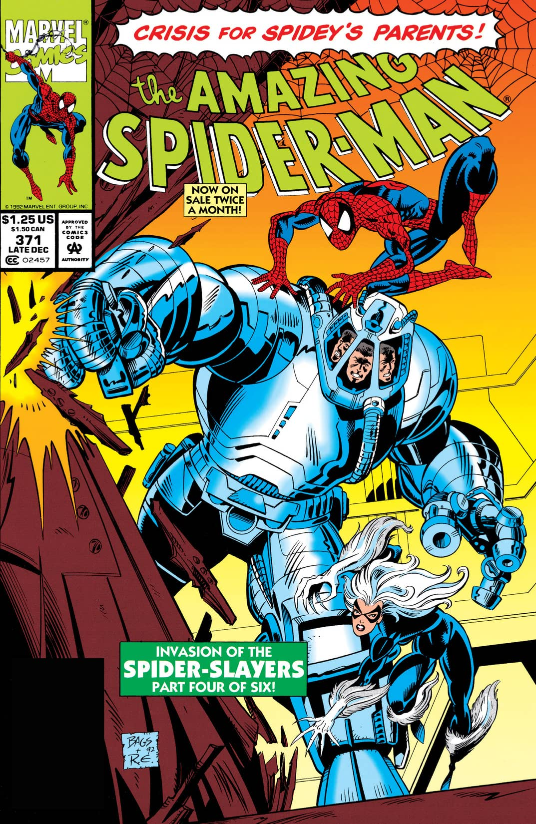 Amazing Spider-Man (1963-1998) #371