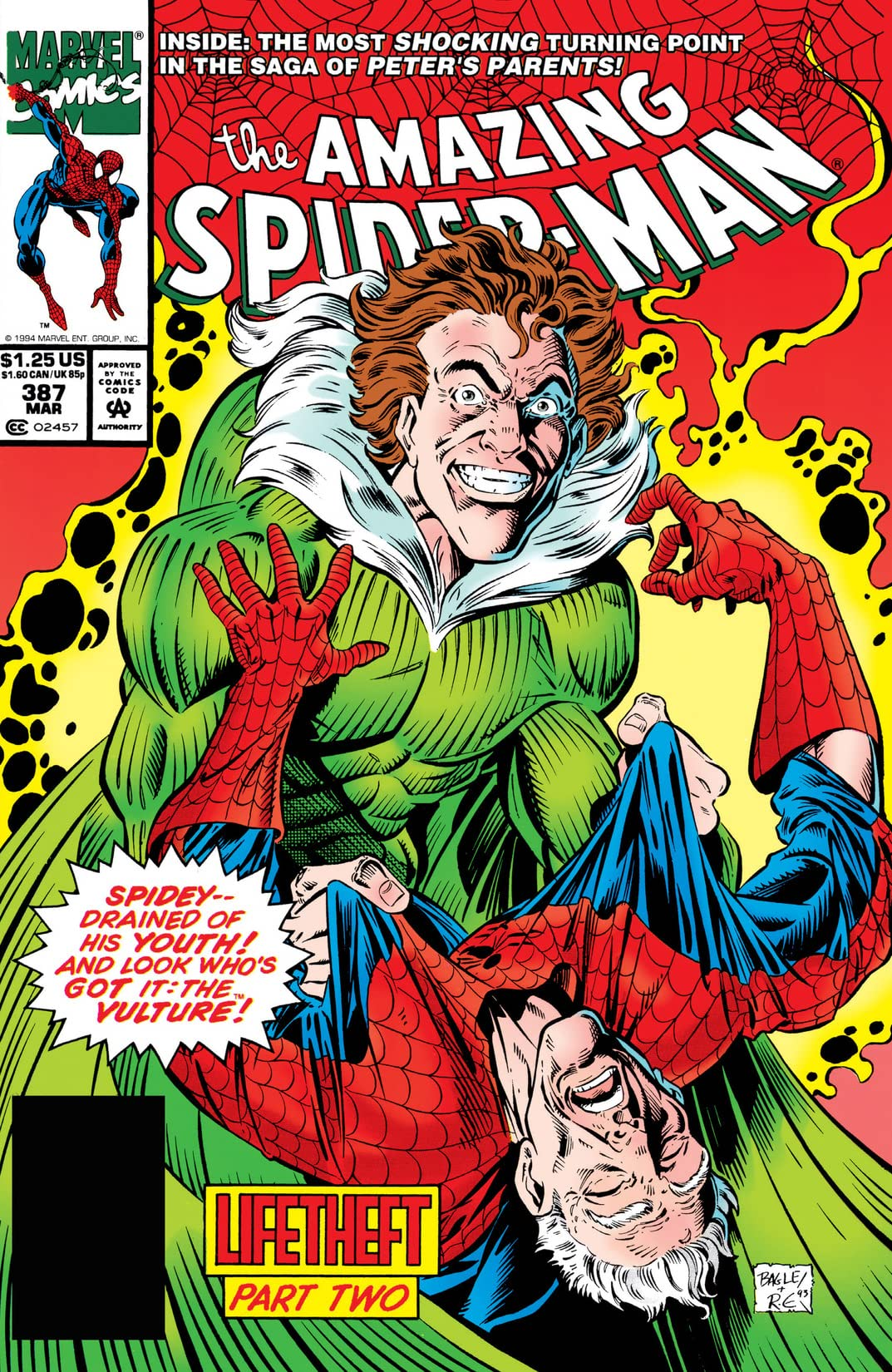 Amazing Spider-Man (1963-1998) #387