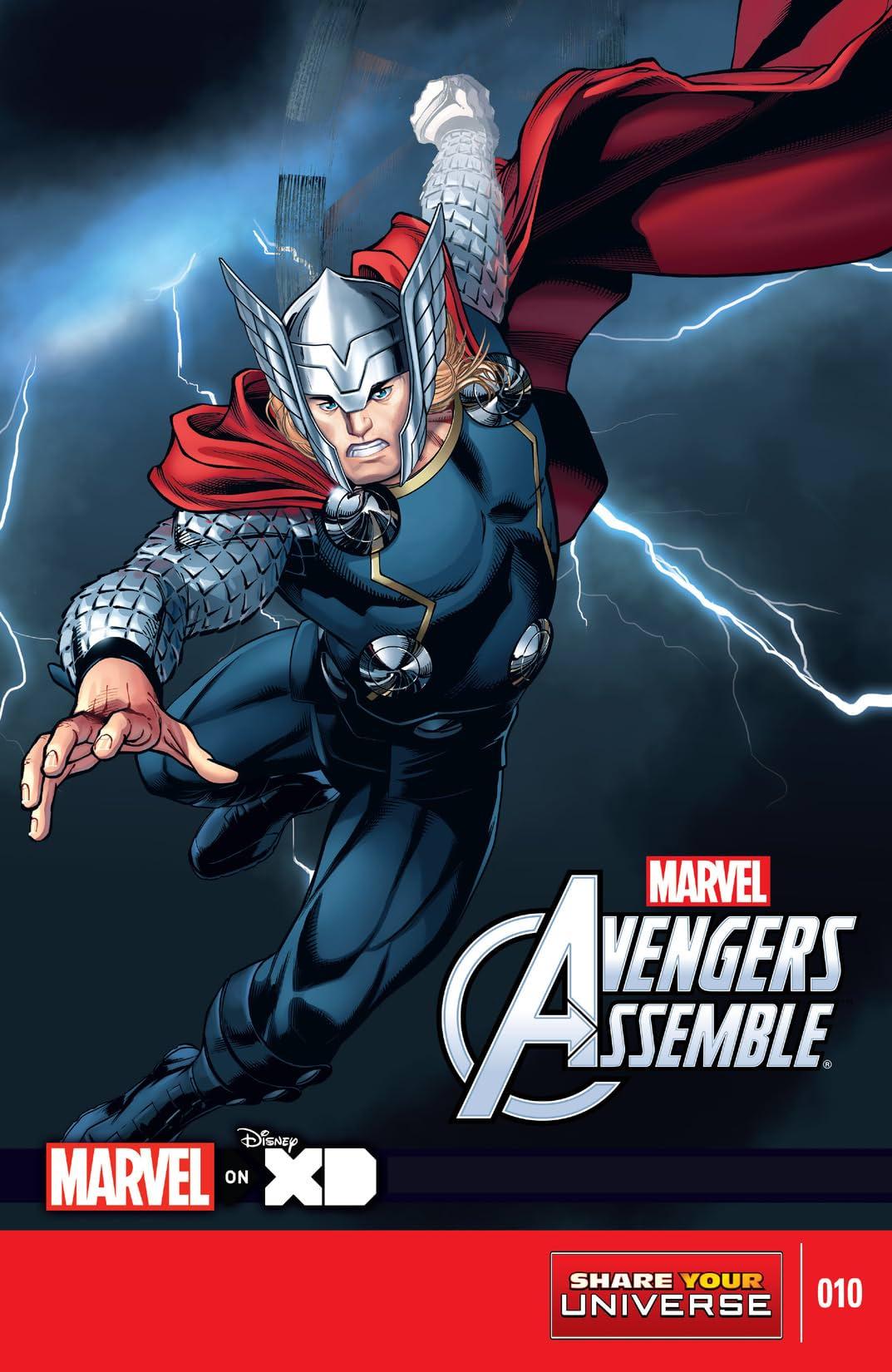 Marvel Universe Avengers Assemble (2013-2014) #10