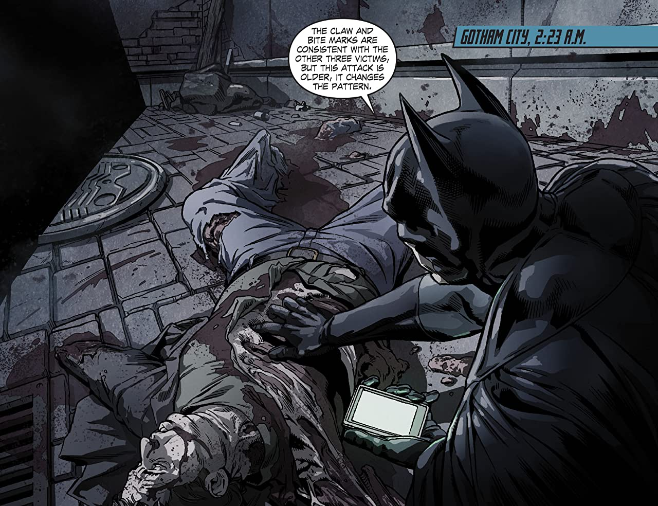 Legends of the Dark Knight (2012-2015) #23