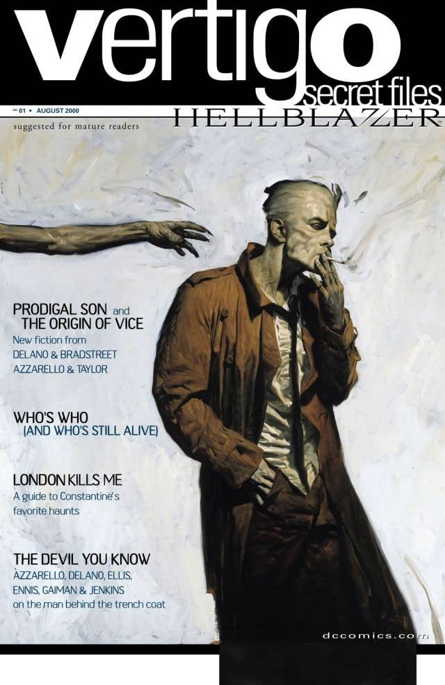 Vertigo Secret Files: Hellblazer #1