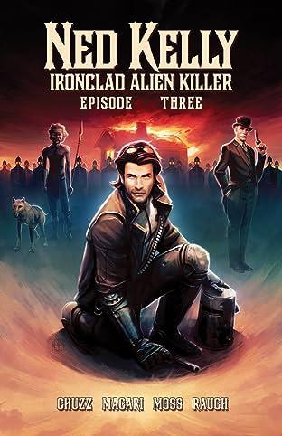 Ned Kelly - Ironclad Alien Killer #3