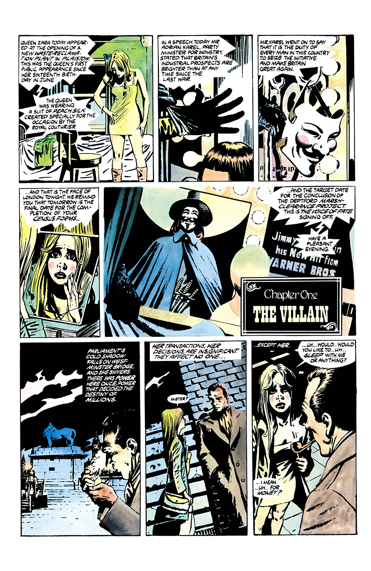 V for Vendetta #1 (of 10)