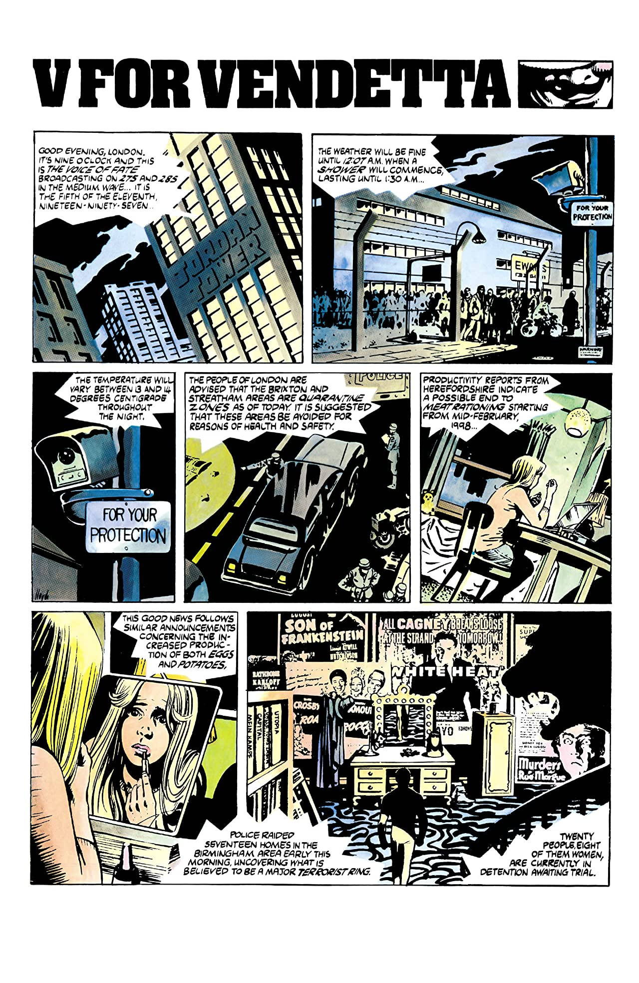 V for Vendetta No.1 (sur 10)
