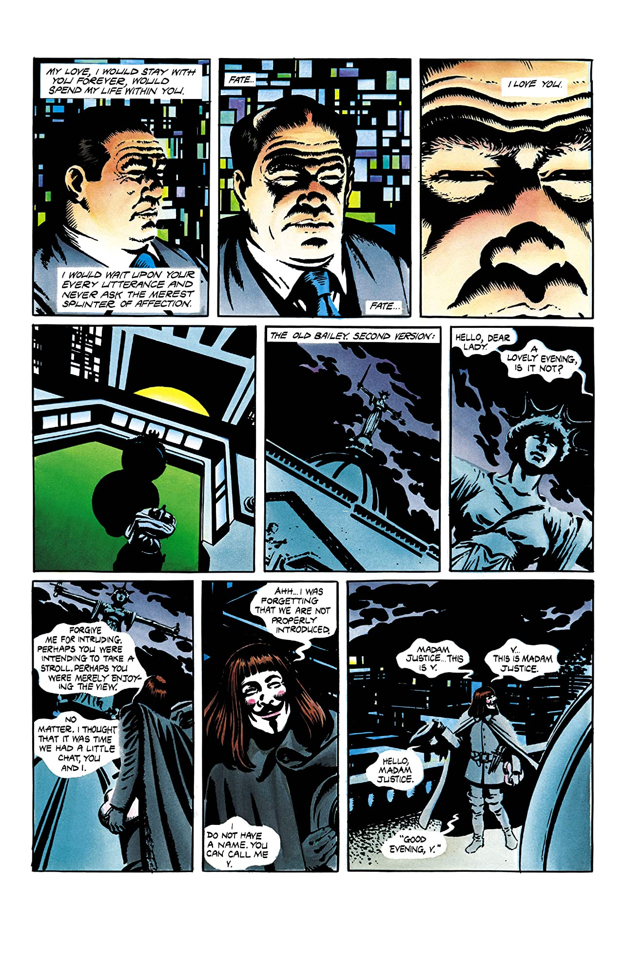 V for Vendetta #2 (of 10)