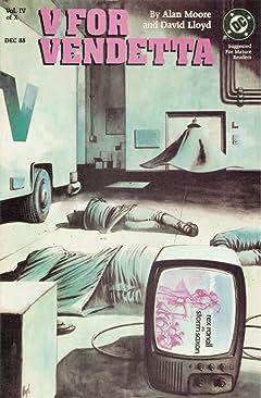 V for Vendetta #4 (of 10)