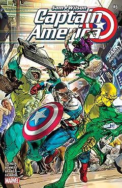 Captain America: Sam Wilson (2015-2017) #6