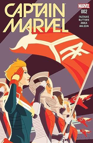Captain Marvel (2016-) #2