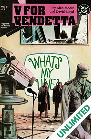 V for Vendetta #5 (of 10)