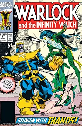 Warlock and the Infinity Watch (1992-1995) No.8