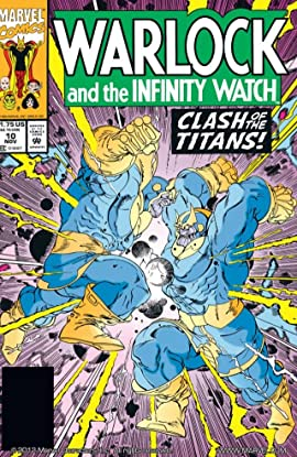 Warlock and the Infinity Watch (1992-1995) No.10