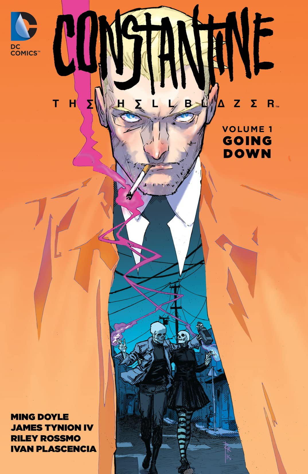 Constantine: The Hellblazer (2015-2016) Vol. 1: Going Down