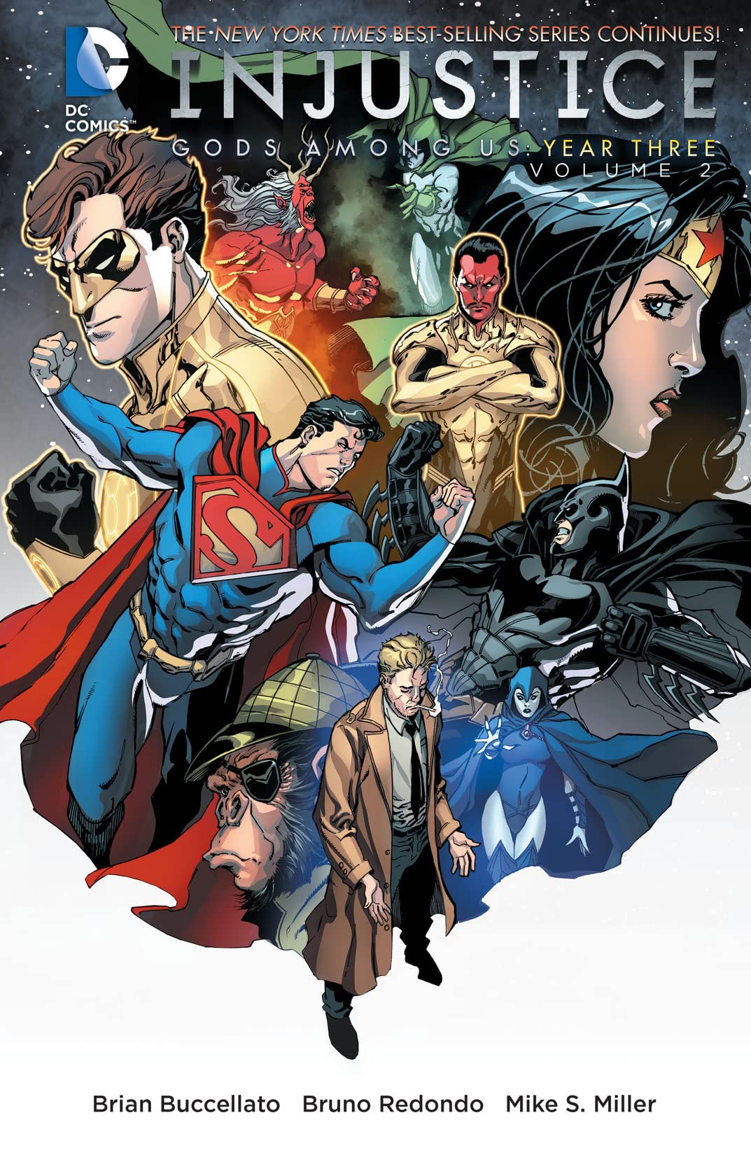 Injustice: Gods Among Us: Year Three (2014-2015) Vol. 2