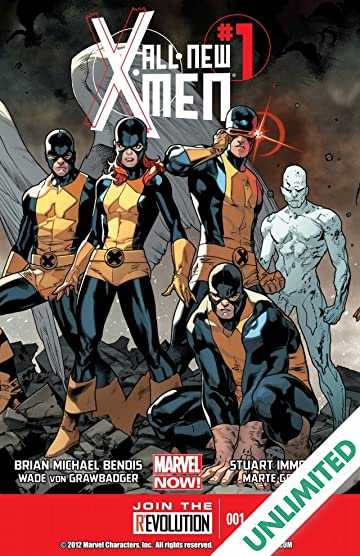 All-New X-Men (2012-2015) #1