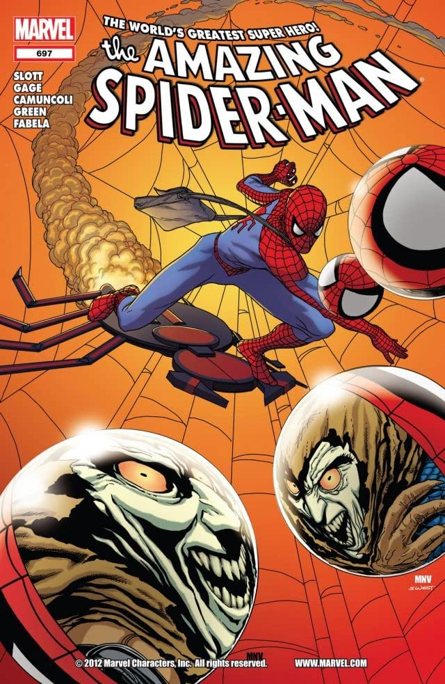 Amazing Spider-Man (1999-2013) #697