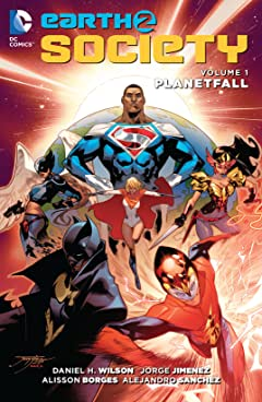 Earth 2: Society (2015-2017) Tome 1: Planetfall