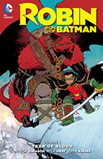 Robin: Son of Batman (2015-2016) Vol. 1: Year of Blood