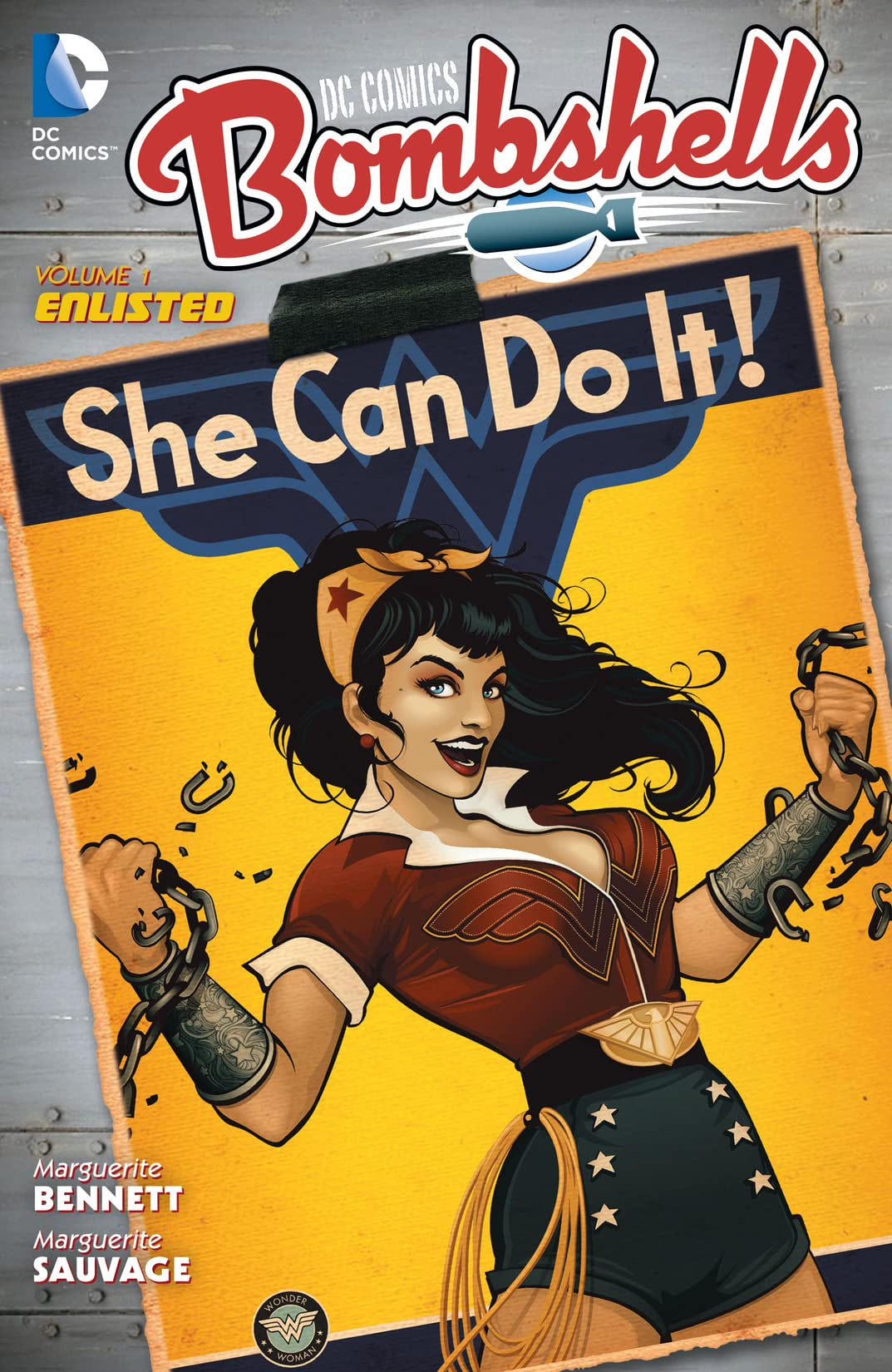 DC Comics: Bombshells (2015-2017) Vol. 1: Enlisted