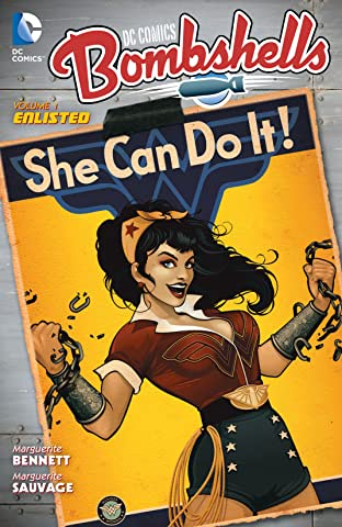 DC Comics: Bombshells (2015-) Vol. 1: Enlisted