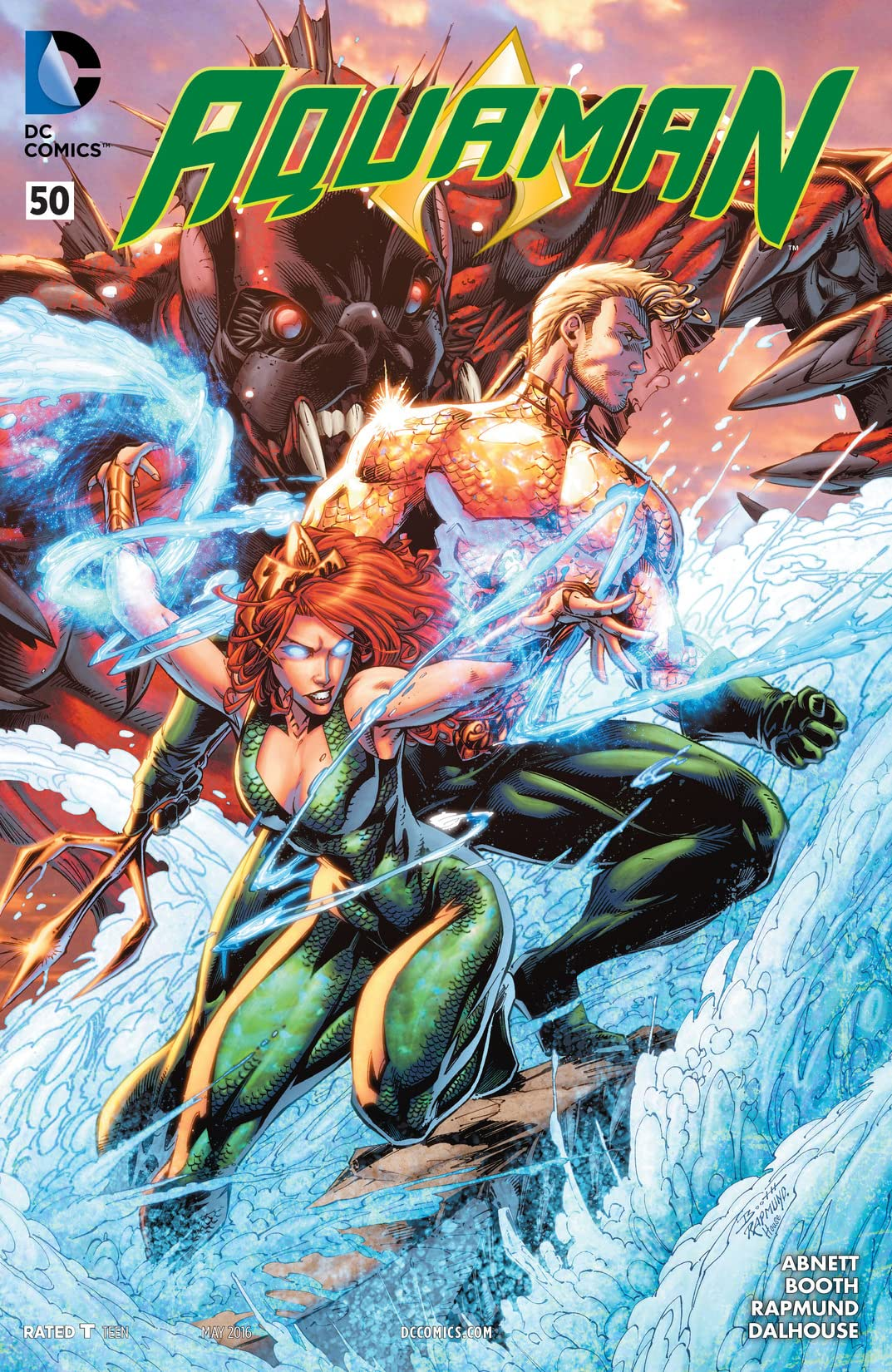 Aquaman (2011-2016) #50