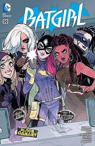 Batgirl (2011-) #50