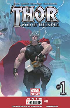 Thor: God of Thunder #1